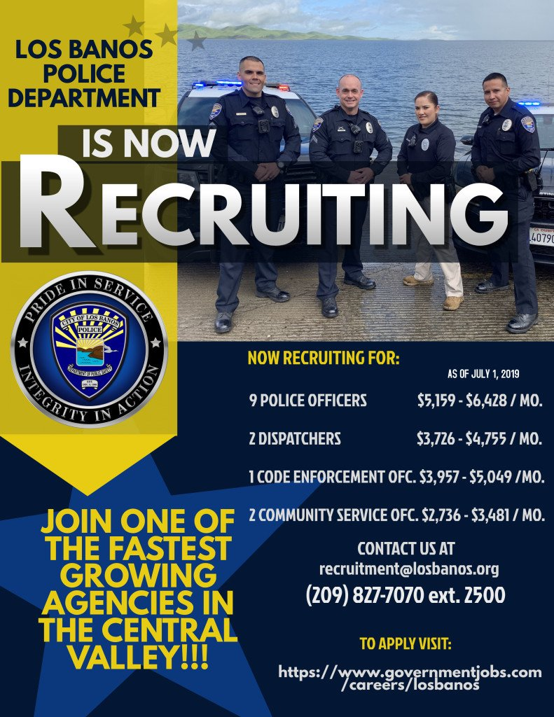 Copy of Police Recruitment Flyer