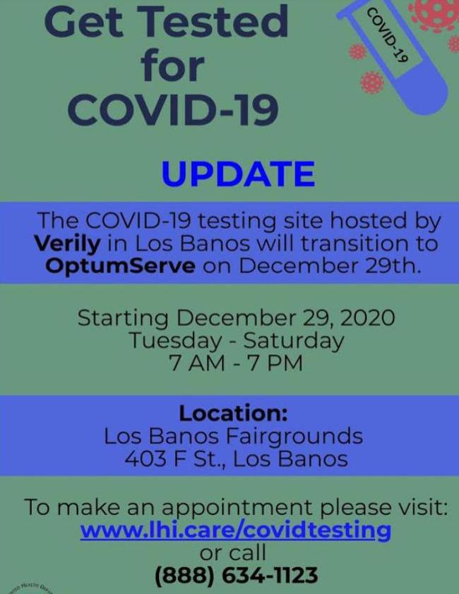 LB Testing Site Update